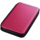 サンワサプライ ブルーレイディスク対応セミハードケース ファスナータイプ 56枚収納 ピンク FCD-WLBD56P
