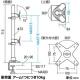 サンワサプライ 水平多関節液晶モニターアーム 上下2面タイプ デスク取付けタイプ CR-LA1009N 画像5