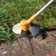 RYOBI(リョービ) 充電式芝刈機 ループハンドルタイプ 18Vリチウムイオン電池 金属8枚刃・あんぜんロータ(ナイロンコード)付 BK-1801L5 画像2