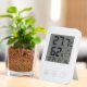 YAZAWA(ヤザワ) 熱中症・インフルエンザ警報付きデンジタル温湿度計 ホワイト DO02WH 画像3