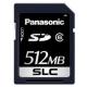 パナソニック 業務用SDメモリーカード FXシリーズ SLCタイプ 512MB 書換え回数約6000回 RP-SDFC51SW1