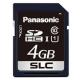 パナソニック 業務用SDメモリーカード FXシリーズ SLCタイプ 4GB 書換え回数約6000回 UHS-I対応 RP-SDFC04SW0