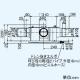 三菱 ダクト用換気扇 中間取付形ダクトファン 排気専用 24時間換気機能付 サニタリー用 高静圧形 1~3部屋換気用 接続パイプφ100mm V-18ZMPC6 画像2