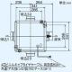 三菱 ダクト用換気扇 中間取付形ダクトファン 排気専用 24時間換気機能付 サニタリー用 高静圧形 1~3部屋換気用 接続パイプφ100mm V-18ZMPC6 画像3