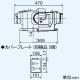 三菱 ダクト用換気扇 中間取付形ダクトファン 排気専用 24時間換気機能付 サニタリー用 高静圧形 1~3部屋換気用 接続パイプφ100mm V-18ZMPC6 画像4