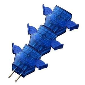 旭電機化成 らくらくプラグ2  3個組 ブルー/ブルー ARR20-TBBB