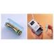 旭電機化成 単4が単3になる電池アダプター 2個入 ライトグリーン ADC-430LG 画像2