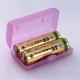 旭電機化成 電池ケース 単3・単4形乾電池用 ライトグリーン ADC-322LG 画像2