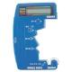 旭電機化成 デジタル電池チェッカーⅡ 電池式 測定可能電池:単1~5形・ボタン電池1.5Vタイプ