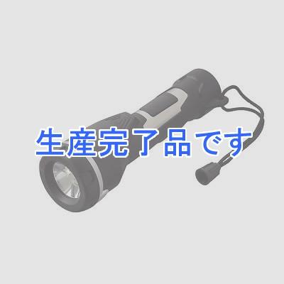 YAZAWA(ヤザワ) 【訳あり・在庫処分】LEDステンレスラバーライト 超高輝度白色LED×6灯 LF502BK