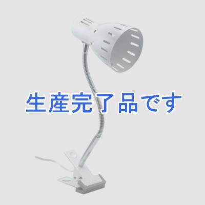 YAZAWA(ヤザワ) クリップライトフレキシブルアームパールホワイト E26 電球なし CFX607PW