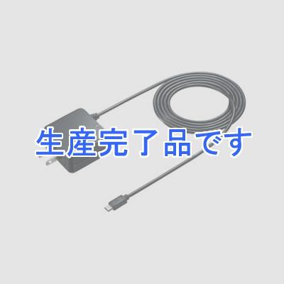 サンワサプライ QuickCharge2.0対応AC充電器 microUSBケーブル一体型 1.5m ブラック ACA-QC42MBK